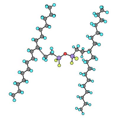 сшитые молекулы полимера
